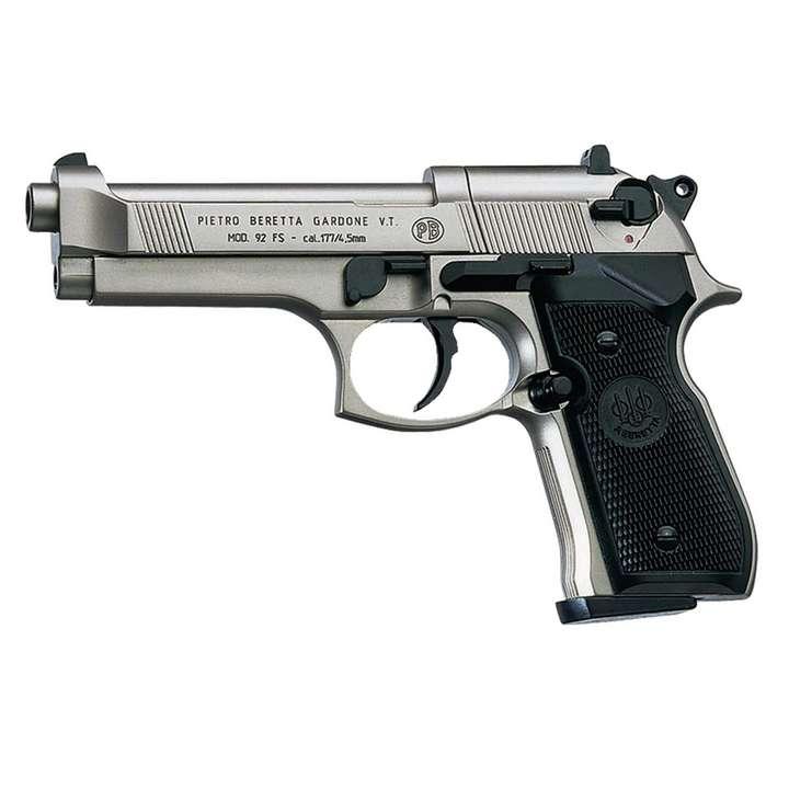 CO2 Beretta M92FS nickelé