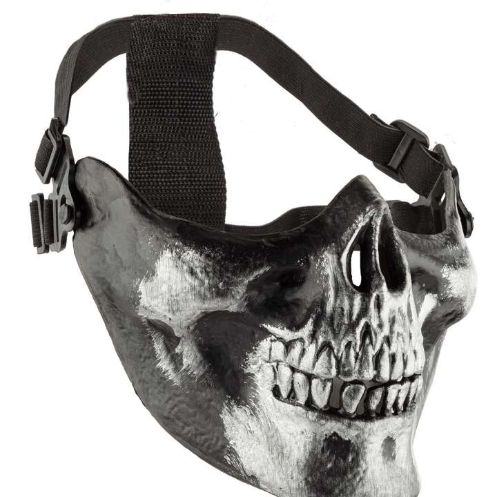 Bas de masque squelette