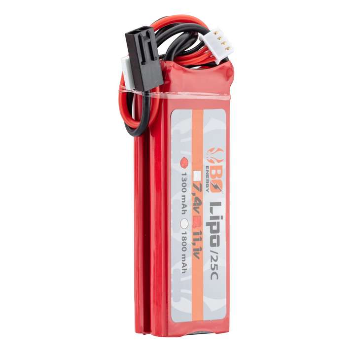 2 sticks batterie Lipo 3S 11.1V 1300mAh 25C