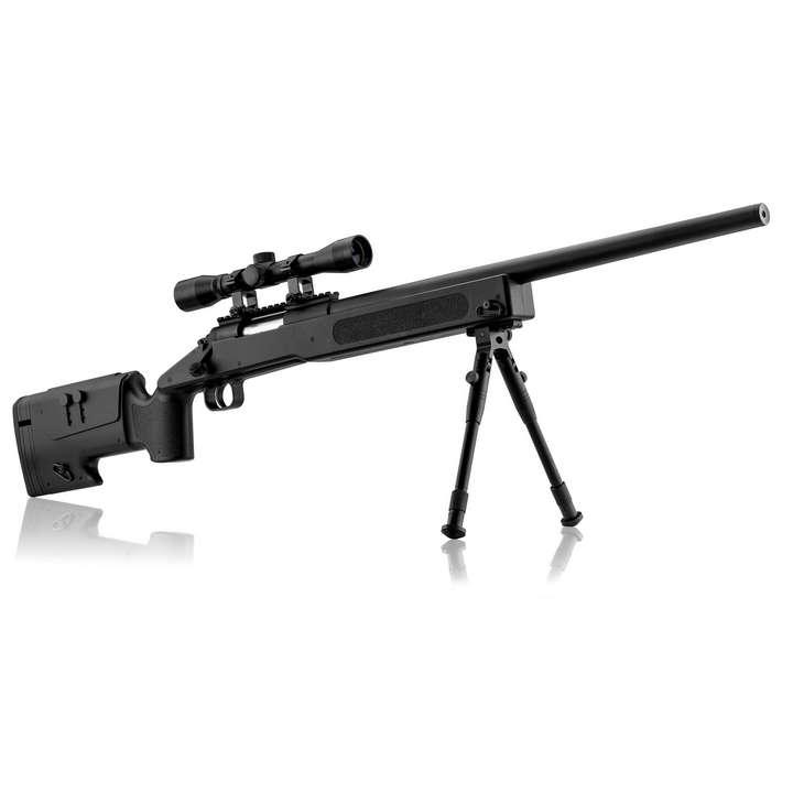 Pack Sniper M40 Ressort 1,9j + Bipied + Lunette 4x32