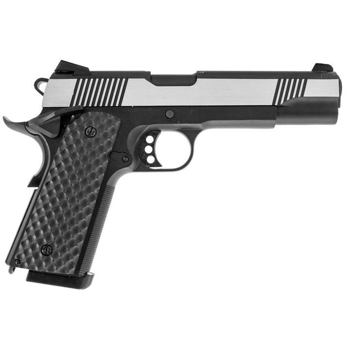 Réplique Pistolet GBB 1911 MEU Raven full metal gaz Silver 1,0J