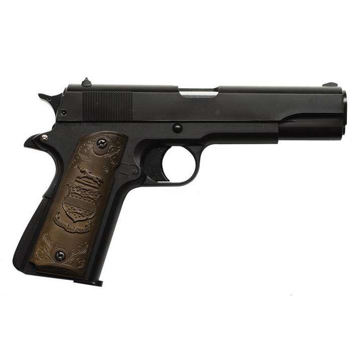 Réplique GNB Gaz 1911 0,5J noir et bois
