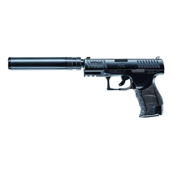 Réplique pistolet à ressort Walther PPQ Navy kit 0,5J