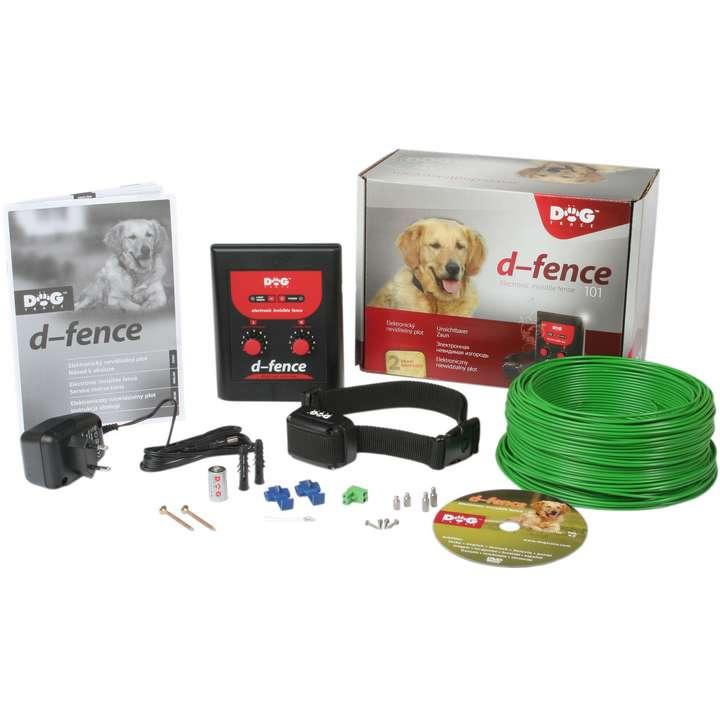 Pack cloture électronique anti fugue pour chien