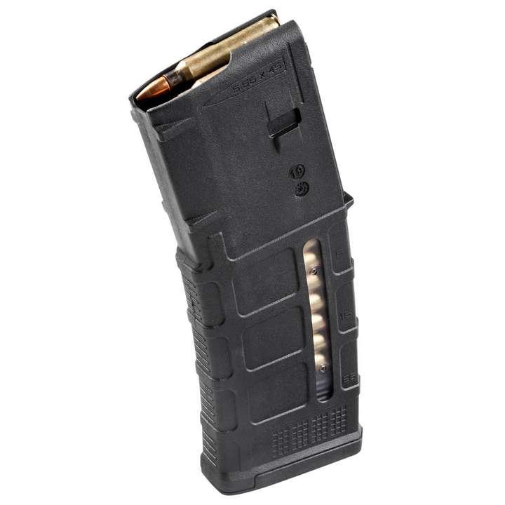 Chargeur Magpul AR15 30 Coups avec fenêtre noire