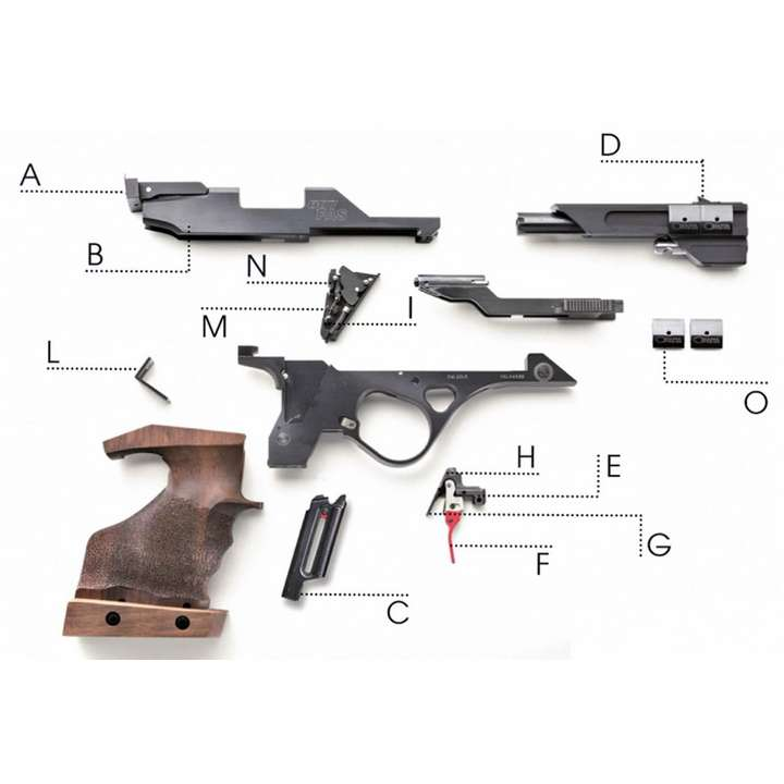 Pistolet Chiappa FAS 6007 cal.22 LR