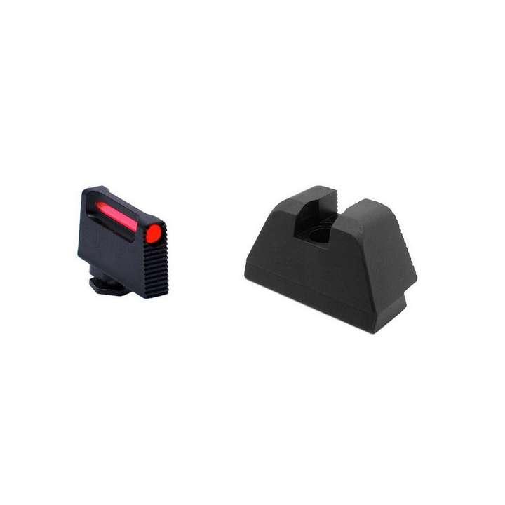 L2D - Visée haute à fibre optique pour Glock