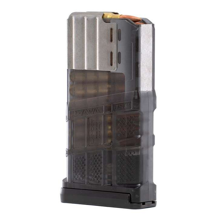 Chargeur Translucent Smoke - AR10 - 20 coups