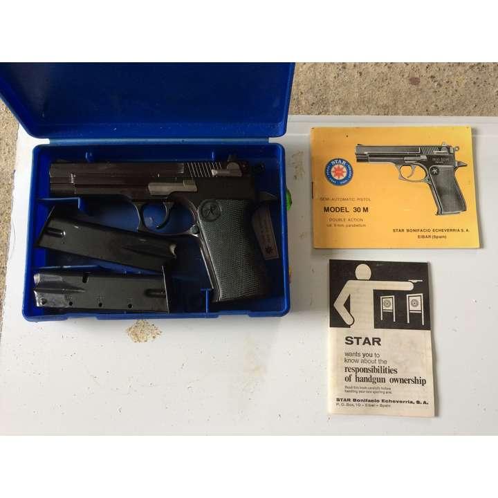 Pistolet Star 30M 9mm Para