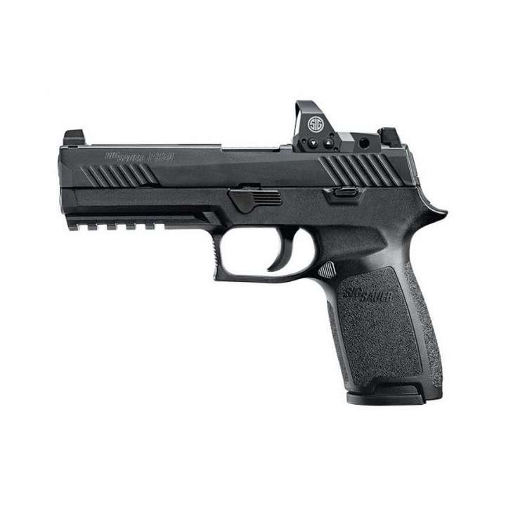 SIG SAUER P320 FULL SIZE RX AVEC ROMEO - C/9 MM