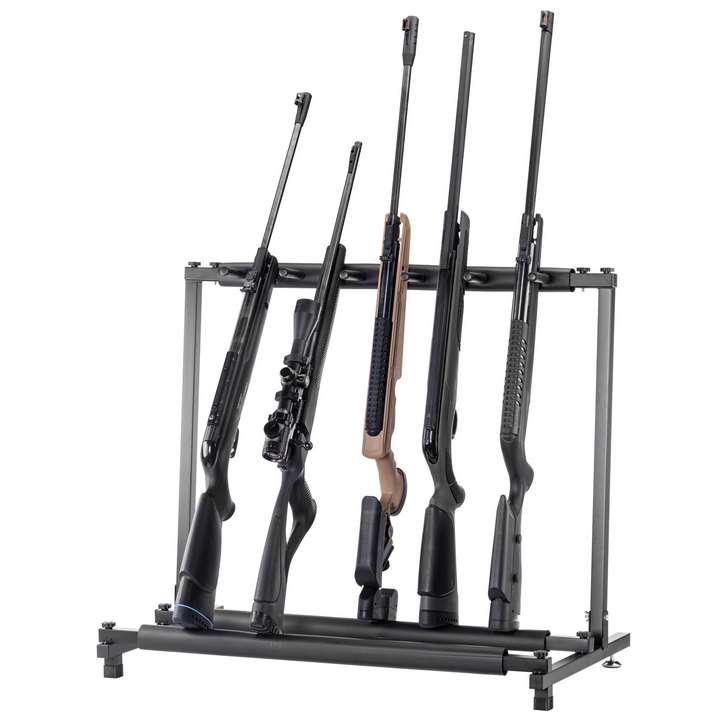 Ratelier vertical en métal 5 armes