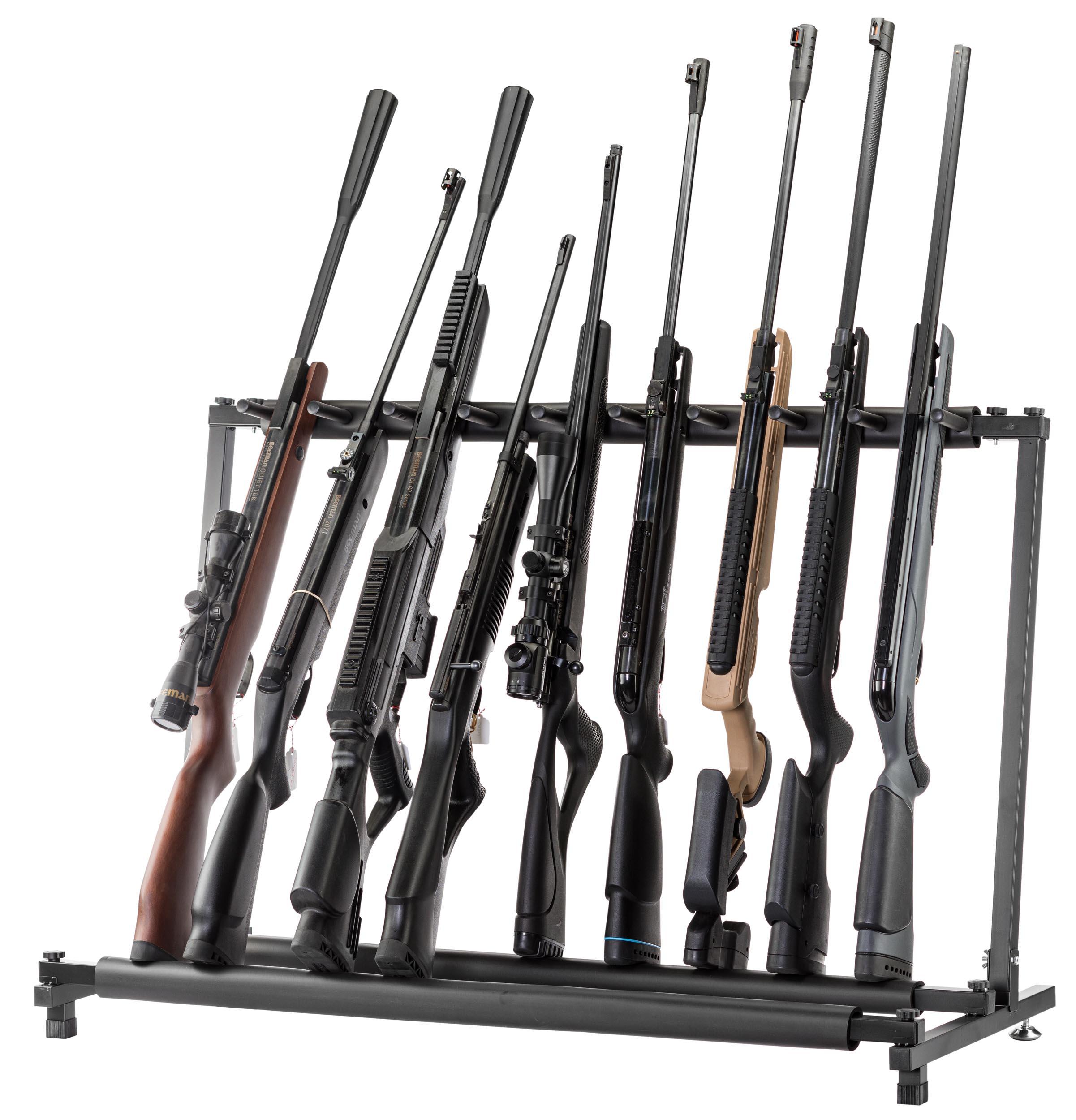 Ratelier vertical en métal 9 armes