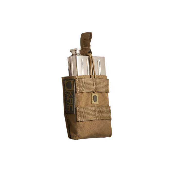 Knight's Armament Flasque avec pouch - Couleur Coyote