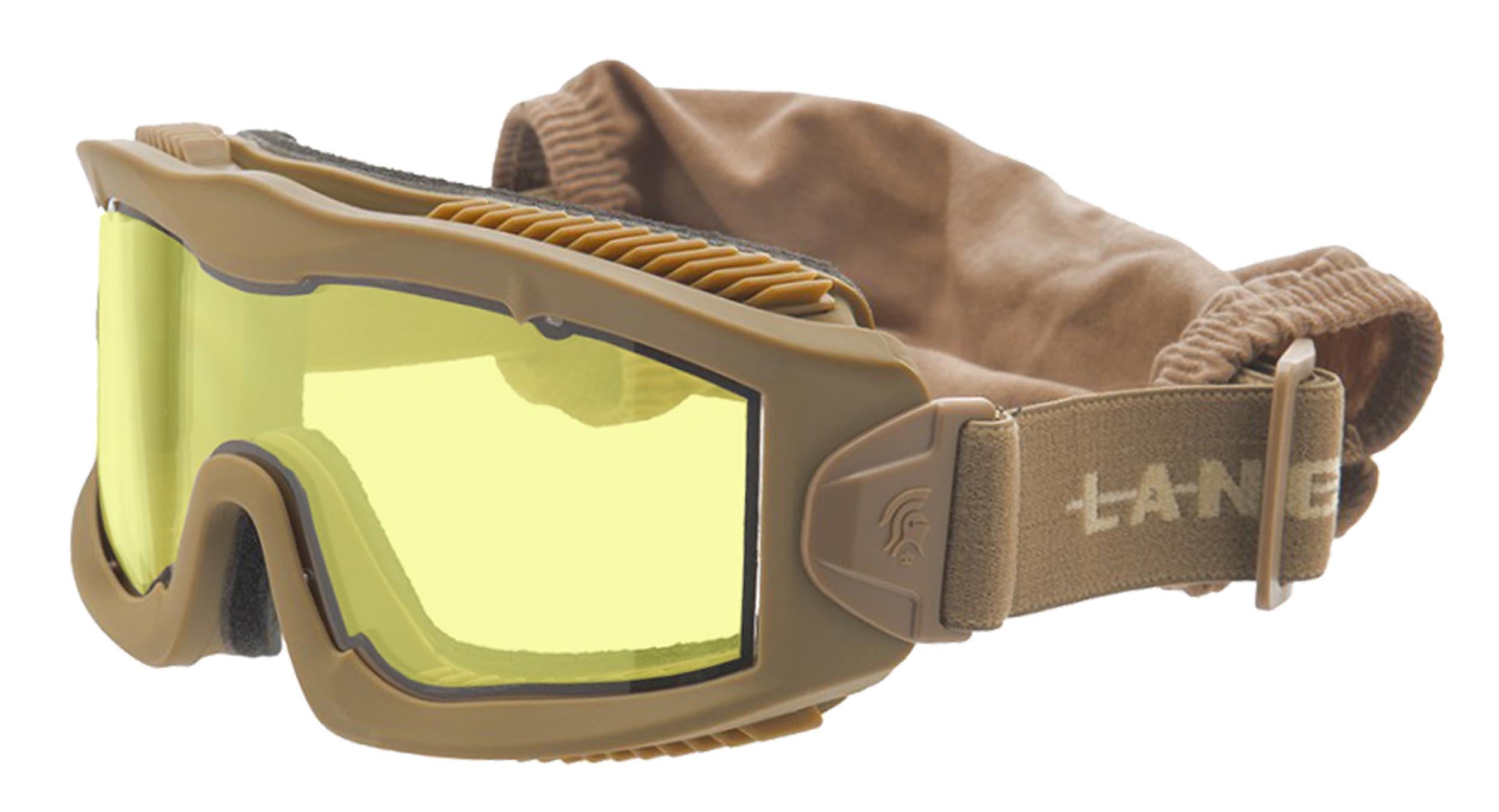 Masque série AERO Thermal Tan jaune