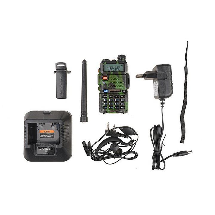 Talkies - Walkies Bi-bande VHF/UHF UV-5R Camo